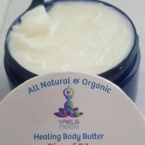Yaels Moon:  RISE OF RA  ~ Body Butter  ~ Organic  ~ Fragrant   4 oz