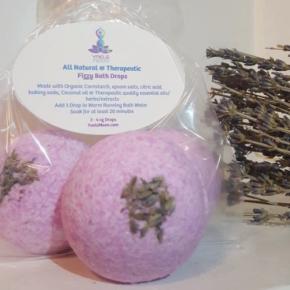Yaels Moon:  Fizzy Bath Drops  ~ Organic  ~ Healing  ~ Fragrant